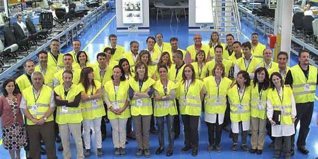 Grupo Antolin staff