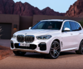 The 2019 BMW X5 50i xDrive in the desert.