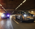 The BMW i3 and the BMW i3s traveling through a tunnel.