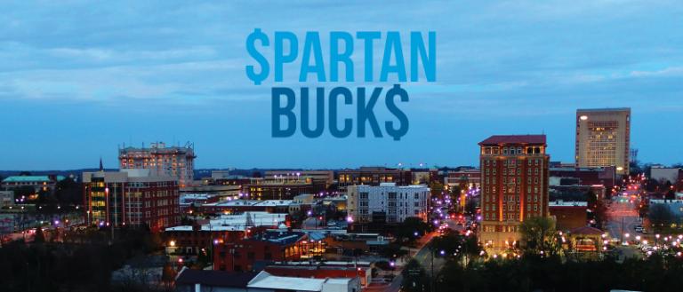 Spartan Bucks.